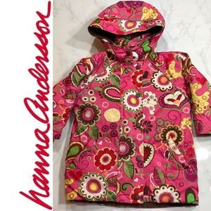 Hanna Andersson Winter Coat w/ Removable Hood